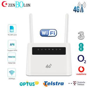VPN 4G Router US T-Mobile SIM Card Wireless WIFI Hotspot LTE Model 300Mbps CPE