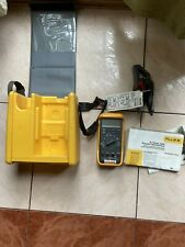 Fluke 87 True Rms Multimeter With Leads Manual Hard Professional Case