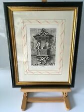 Jean Le / Pautre Framed Art Engraving Print From The Dorchester Hotel London