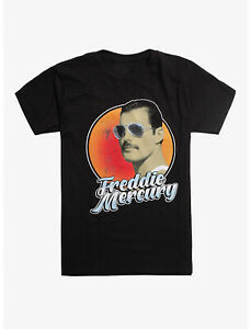Queen Freddie Mercury Aviator Sunglasses t Shirt