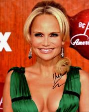 Beautiful KRISTIN CHENOWETH Signed Photo