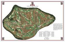 Shinnecock Hills Golf Club - 1891 - Willie Dunn - a VintageGolfCourseMaps print