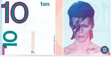 More details for local currency brixton pound. david bowie £10 note. with brixton folder   unc