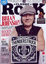 CLASSIC ROCK MAGAZINE + CD MAY 2017 (BRIAN JOHNSON, BEATLES, X JAPAN, FLOYD) NEW