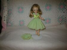 (No Doll)~1959 Betsy McCall Doll Ballerina Green Skirt/Panties/Slippers~B3 9