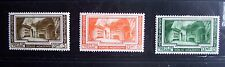 Vatican stamps (1938): 6th internat. archaeol. congress; 3 of 6; mint; hinged