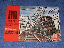 Catalogue JOUEF Télécommande Bloc système 1970 -1971