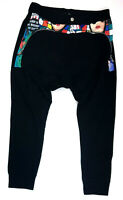 Decibel Men's Dropped Crotch Joggers w/ Zipper Pockets, 2X