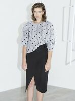 BNWT Cameo C/MEO Collective Fall Back Skirt Black Size XS RRP $169.95
