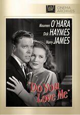 Do You Love Me 1946 (DVD) Maureen O'Hara, Dick Haymes, Harry James - New!