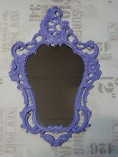 Exclusivo Espejo de Pared Púrpura Barroco Repro Antiguo 50x76 Decoración 118