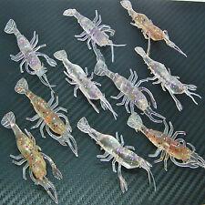 Crevettes crevettes Leurre Bass Coarse Mer Rivière Pêche à la morue maquereau saumon appâts