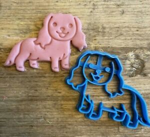 Spaniel Cookie Cutter, Dog biscuit cutter, King Charles, cute animal, pets