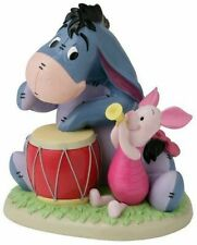 Takasho Disney Garden Statue Music Corps Piglet and Eeyore w/tracking