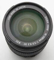 Sigma Zoom 18-200mm 18-200 mm 3.5-6.3 DC - Minolta Dynax 7D / Sony A mount DSLR