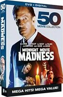 Midnight Movie Madness: 50 Movie Horror Collection (10 Disc) DVD NEW