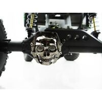 Hot Racing Axial Wraith Black Chrome Metal Skull Diff Cover AR60 WRA12CT01