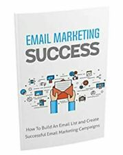 Email Marketing Success Pdf Ebook with Master Resell Rights Email List Campaigns