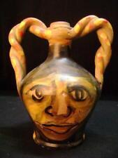 Brocca caraffa vaso in terracotta  bottega del duomo di cosenza ceramica