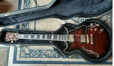 Ibanez AM 153-BDS Semi with hard case