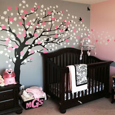 Cherry Blossom Tree Decal - Elegant Style - scheme A