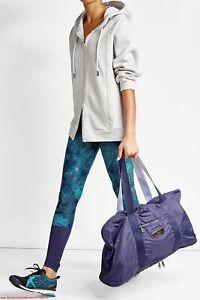 Stella McCartney Adidas Purple Gym Duffle Bag
