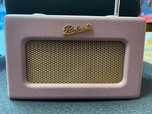 Roberts Revival Uno Retro Compact DAB/DAB+/FM Radio - Dusky Pink