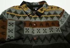 Vintage 1980s Billabong Blanket Coat Aztec Surf Made in USA Men's Medium Jacket