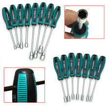 Metal Socket Driver Wrench Screwdriver Hex Nut Key Nutdriver Hand Tool 3mm-14mm