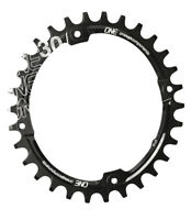 OneUp Components 104 Oval Chainring 104BCD 30T Black