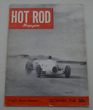 HOT ROD 1948 SCTA EL MIRAGE PINUP T ROADSTER FLATHEAD FORD INDIANA RACING VTG 32