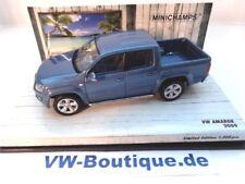 + VW AMAROK von Minichamps in 1:43 blau metallic NEU  436058362