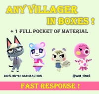 All Villager Custom Raymond Judy Audie Marshal Lolly Whitney Coco FAST RESPOND!