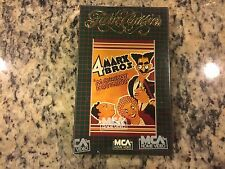 MONKEY BUSINESS RARE NEW SEALED BETA BETAMAX TAPE 1931 MARX BROTHERS COMEDY FUN!