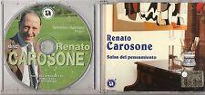 RENATO CAROSONE CD single 3 tracce SALSA DEL PENSAMIENTO made in ITALY