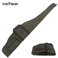 Tourbon Gun Slip Scope Rifle Bag Soft Case with Zipper Pocket Tactical Hunting