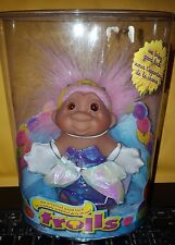 "2006 Good Luck Princess Troll 5"" DAM Troll Doll Pink Hair NEW IN CONTAINER"