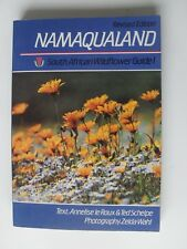 NAMAQUALAND SOUTH AFRICAN WILDFLOWER GUIDE 1 LEROUX SCHELPE WAHL 1988