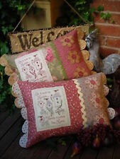 Quilting Sewing Cushion Pattern Sally Giblin Rivendale Collection HUMBLE HOME...
