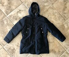 Michael Kors Black Goose Down Winter Puffer Coat Parka Men's XL