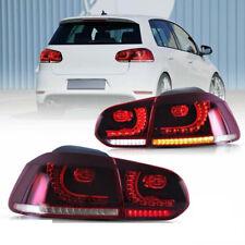 Coppia fari fanali posteriori LED Golf 6 VI GTI Look freccia sequenziale