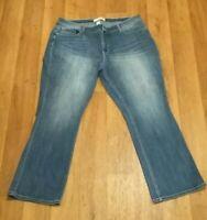 Cato Plus-Classic Fit-Boot Cut Jeans 20w