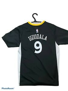 Golden State Warriors NBA Andre Iguodala Adidas Shirt #9 Youth Large Used