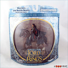 Lord of the Rings AOME Aragorn in Gondorian Armor on Horse LOTR RotK