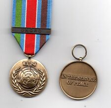 UNITED NATIONS MEDAL WITH CLASP UNCRO - FOR SERVICE IN CROATIA