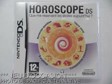 OCCASION: Jeu HOROSCOPE nintendo DS game francais theories astrologiques aide