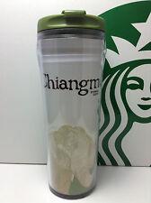 New Starbucks Chiangmai city Tumbler Travel Mug Thailand Coffee Tea 12oz 2004