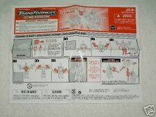 Transformers Energon Skyblast instructions C9