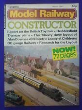 MODEL RAILWAY CONSTRUCTOR - March 1981 vol 48 #563