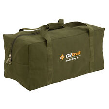 NEW Oztrail Canvas Duffle Bag - LARGE | BPC-DUFL-D